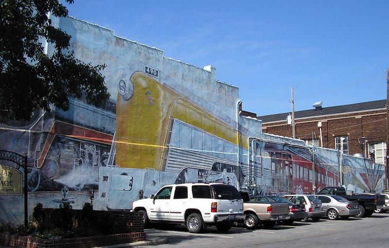 Train Public Mural