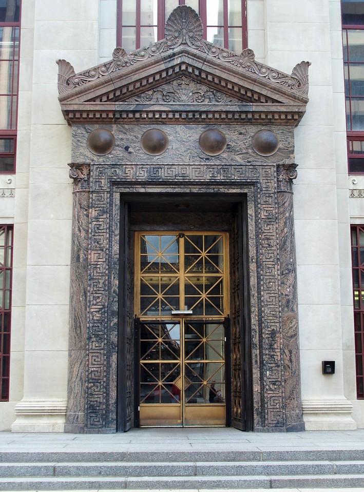City Hall Entrance