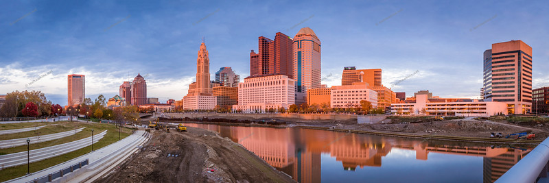 Sunset on the Scioto