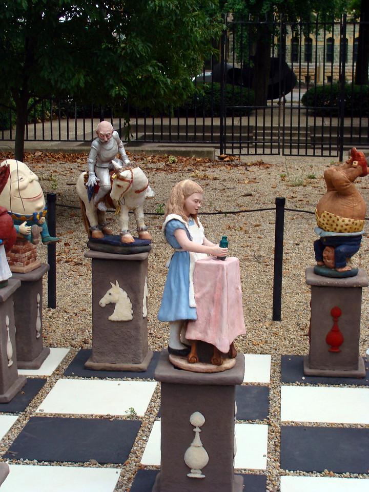 Alice in Wonderland Chess Piece