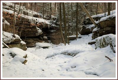 upper falls gorge