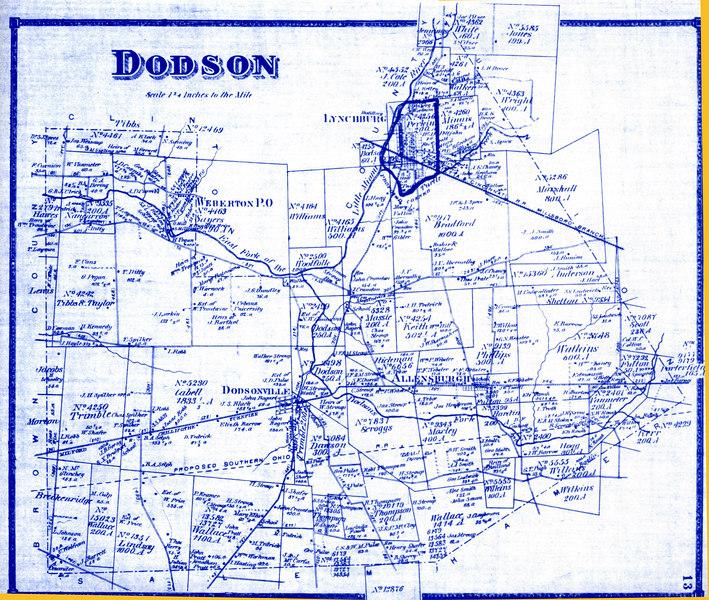1871 Dodson, Ohio properties