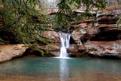 Upper Falls, Old Mans Cave Gorge, Hocking Hills.