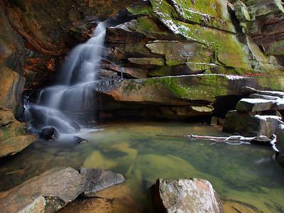 Broken Rock Falls - 1