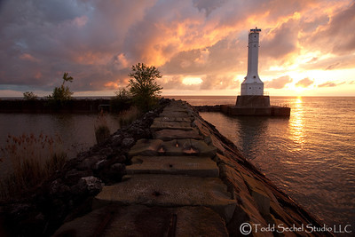 Huron Pier 7214 - Huron, Ohio