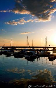 (3) Lakeside Reflection