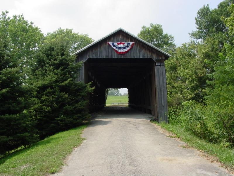 Covered Bridge, Lynchburg, Ohio
