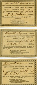M E Church Ticket Lynchburg
