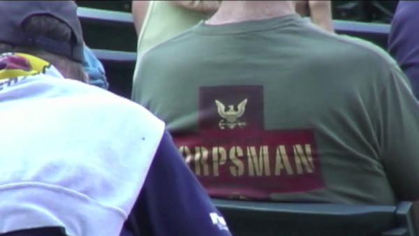 VIDEO:  Day 5 - Part 2 of 2 RocknRoll Band at Indians/Pittsburgh Game and oath taken by recruits.