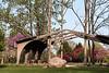 Ornamental arbor structure, Secor Metro Park.<br /> <br /> Toledo, Ohio.