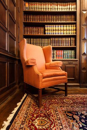 Chair in Library in Van Swarengen Suite in Terminal Tower