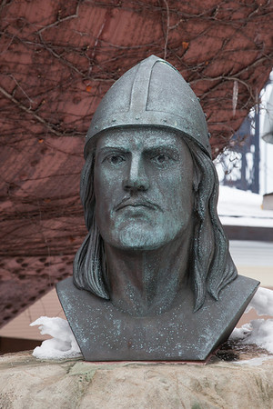 Statue of Leif Ericson Viking Explorer