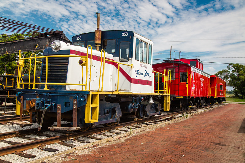 France Stone Co 22 ton GE Center Cab Locomotive #353
