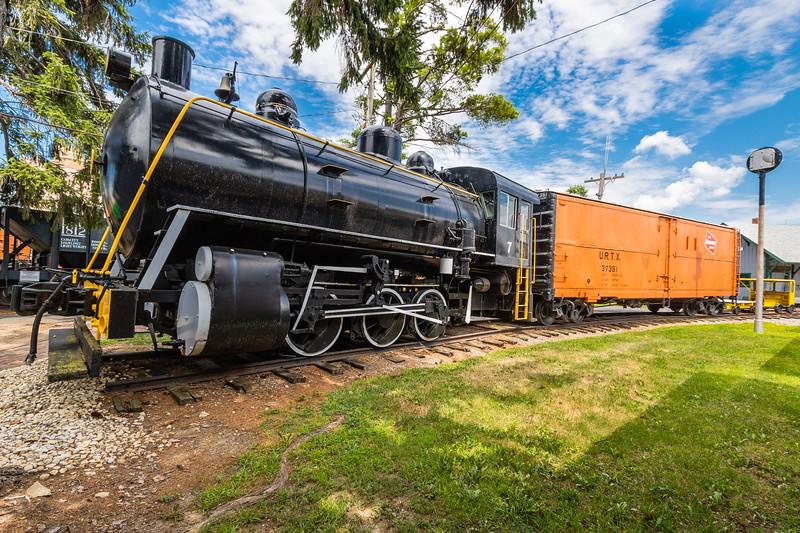 """H.K. Porter 0-6-0 """"Fireless Cooker"""" Locomotive #7"""