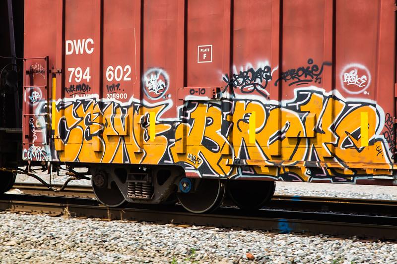 Train Graffiti Review