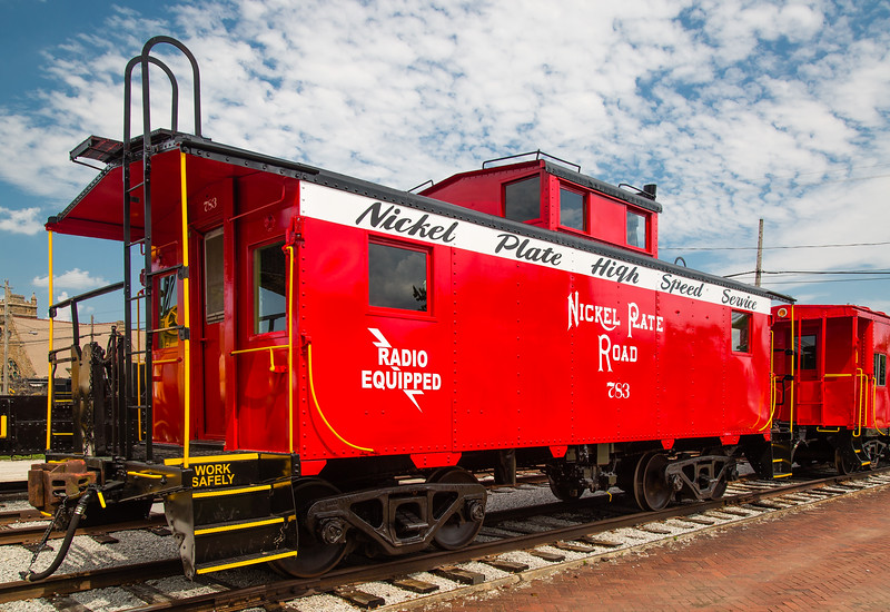 Nickel Plate Road Steel Caboose #783