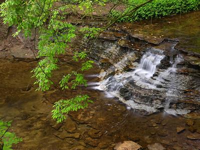 Swinging Bridge Falls