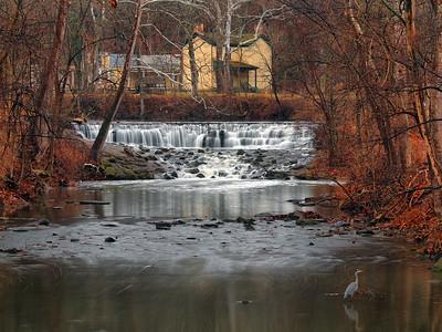 Buckeye Dam Falls