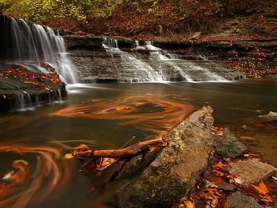 Lower Falls, Sharon Woods - 3