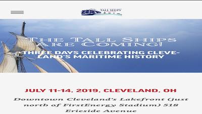 Video:  14 mins ~~ Tall Ships - Cleveland - July 2019