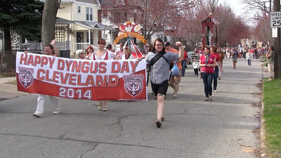 VIDEO:  Dyngus Parade only