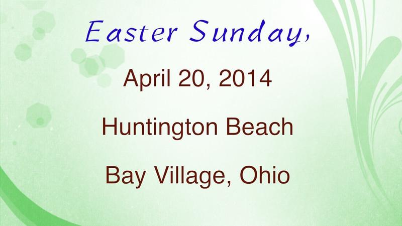 VIDEO - Easter Sunday & Lake Erie