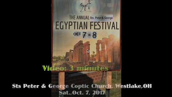 Egyptian Festival+., Sat., Oct. 7, 2017