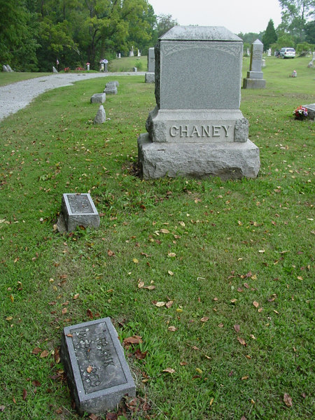 Chaney family<br /> Troutwine Cemetery, Lynchburg, Ohio