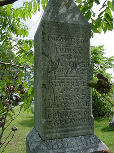 Louisa Laymon Martha E. Laymon Troutwine Cemetery, Lynchburg, Ohio