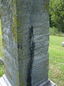Stella Mae Laymon daughter of Sinclair and Elizabeth Laymon Troutwine Cemetery, Lynchburg, Ohio