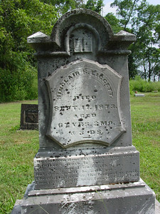 Sinclair Liggett, d.1873 Troutwine Cemetery, Lynchburg, Ohio