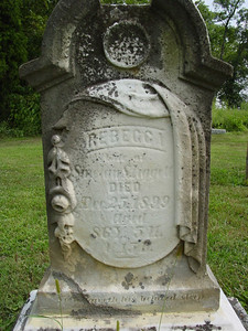 Rebecca Liggett d.1899 Troutwine Cemetery, Lynchburg, Ohio