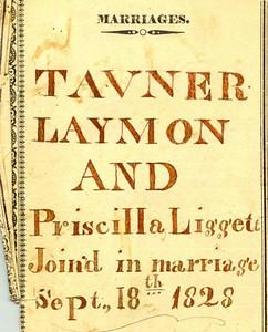 Laymon Family Bible