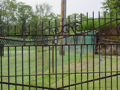 Gate, Troutwine Cemetery, Lynchburg, Ohio