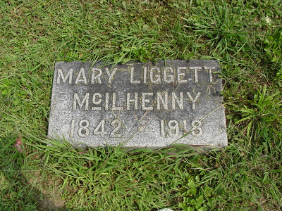 Mary Liggett McIlhenny (1842-1918) Troutwine Cemetery, Lynchburg, Ohio