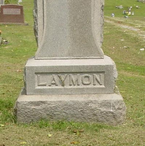 Laymon Family Marker Troutwine Cemetery, Lynchburg, Ohio
