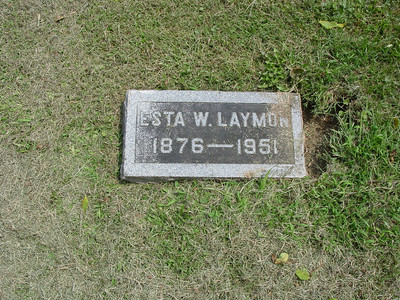 Esta W. Laymon Troutwine Cemetery, Lynchburg, Ohio