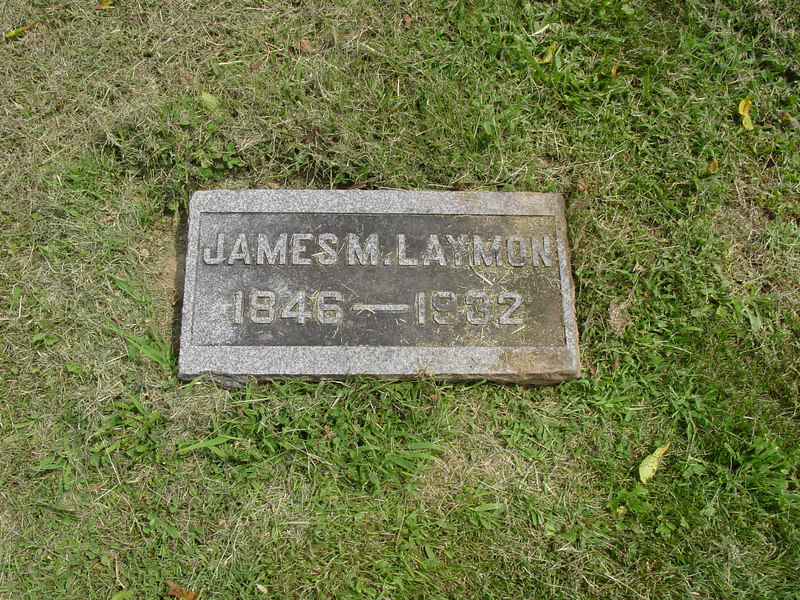 James Monroe Laymon<br /> Troutwine Cemetery, Lynchburg, Ohio