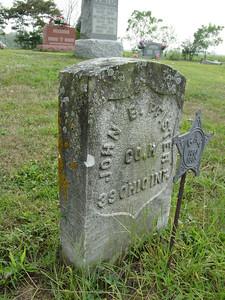 John Pfister 39 Ohio Inf. Troutwine Cemetery, Lynchburg, Ohio