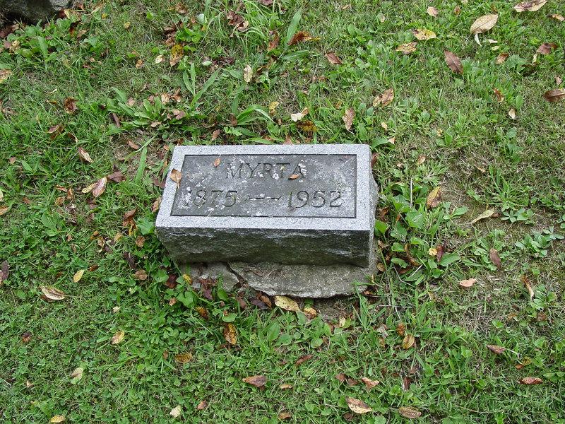 Myrta McDaniel<br /> Troutwine Cemetery, Lynchburg, Ohio