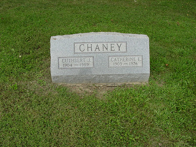Cuthbert Chaney and Catherine Chaney Troutwine Cemetery, Lynchburg, Ohio