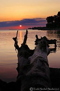 (29) Sherod Park Sunrise Vermilion