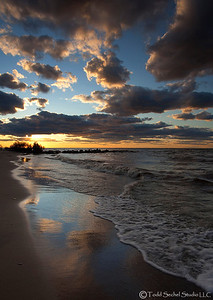 Sherod Park Sunset (2739) - Vermilion, Ohio