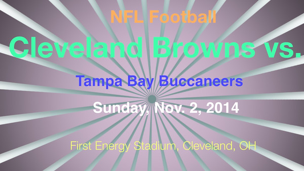 VIDEO:  Browns vs. Buccaneers