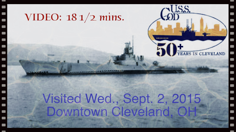 Submarine USS Cod -- Wed., Sept. 2, 2015, Cleveland, Ohio