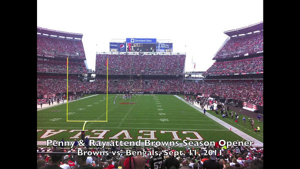 Browns' Opening Day - 2011