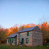 Moon Over Farm House