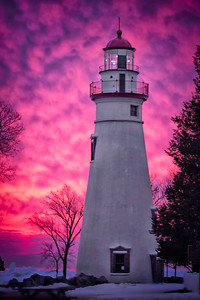 Marblehead Lighthouse at Sunrise