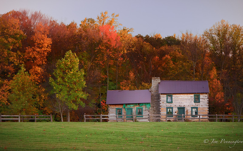 Fall Farm House