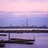 Cedar Point as seen from Sandusky dock